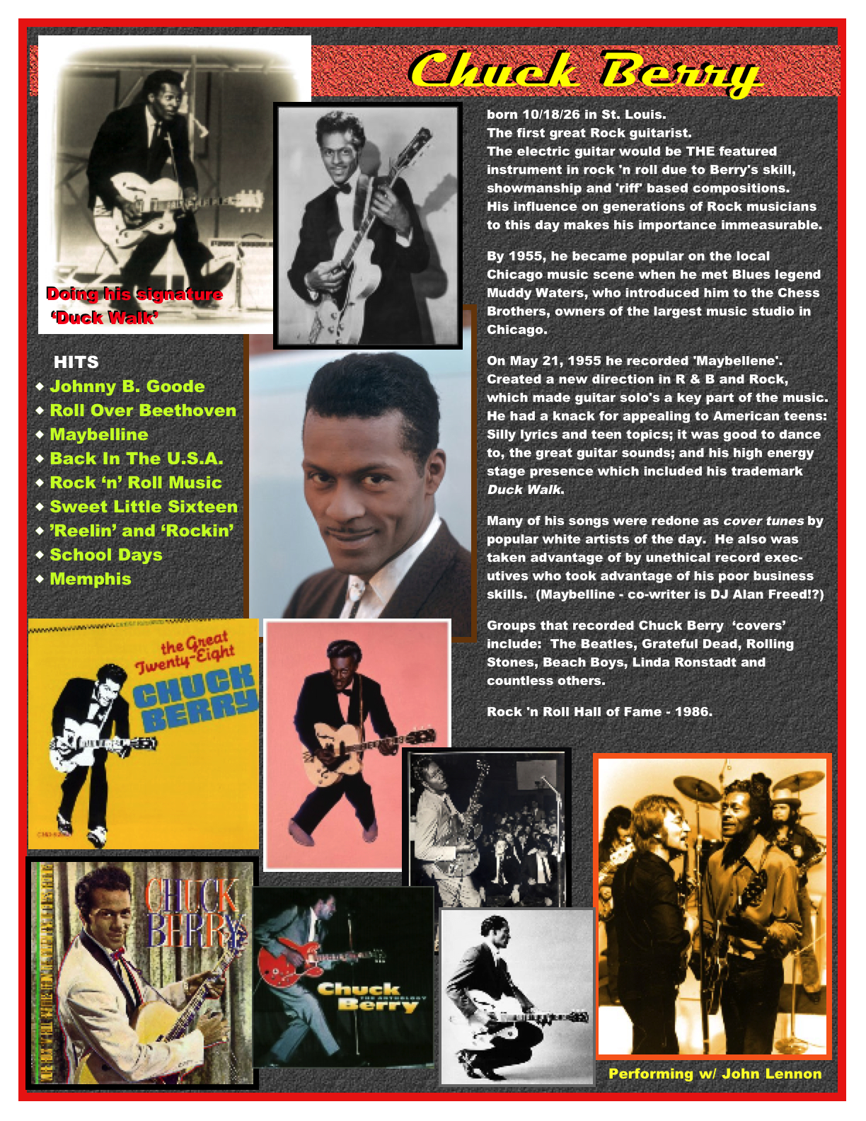 chuck berry youtube